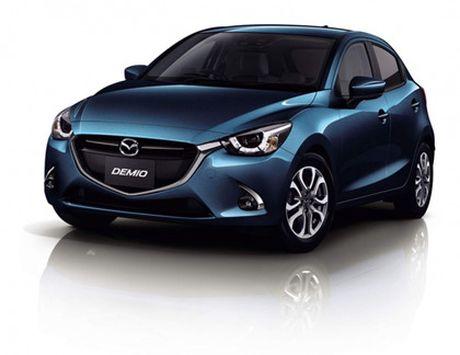 Mazda trinh lang phien ban nang cap Mazda2 - Anh 3