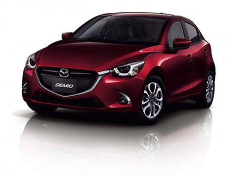 Mazda trinh lang phien ban nang cap Mazda2 - Anh 4