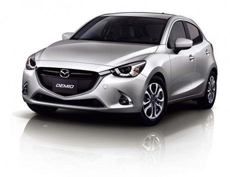 Mazda trinh lang phien ban nang cap Mazda2 - Anh 5