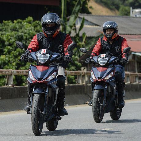 Xem Honda Winner 150 chinh phuc cuc Tay - Anh 12