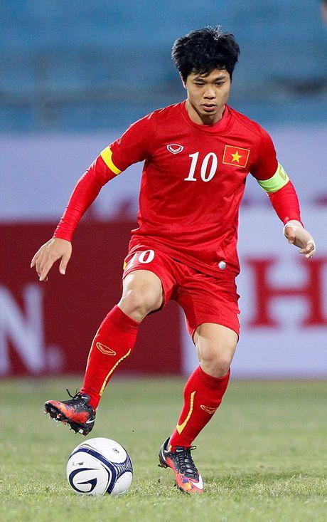 Cong Phuong, Tuan Anh, Xuan Truong se du giai U21 Quoc te - Anh 1