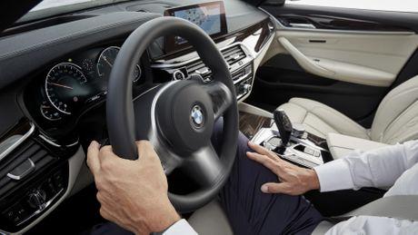 10 diem thu vi tren BMW 5-Series 2017 - Anh 8