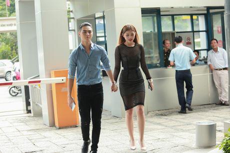 Chung Huyen Thanh dua ban trai di casting show thuc te - Anh 1