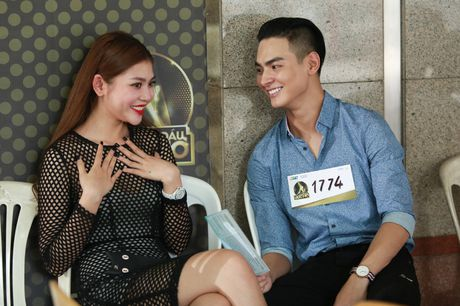 Chung Huyen Thanh dua ban trai di casting show thuc te - Anh 2
