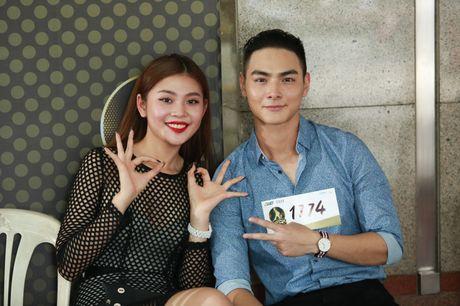 Chung Huyen Thanh dua ban trai di casting show thuc te - Anh 3
