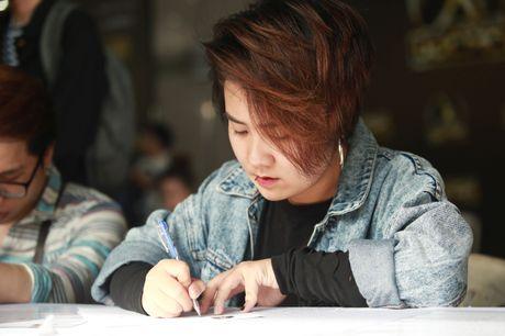 Chung Huyen Thanh dua ban trai di casting show thuc te - Anh 9