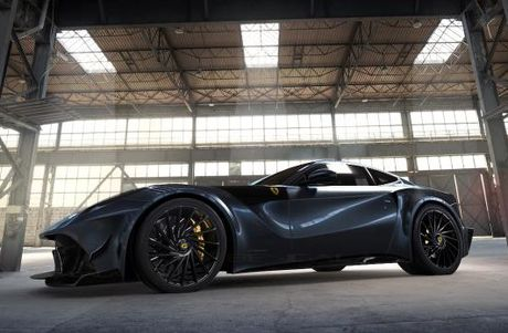 Ferrari F12 do carbon gioi han 10 chiec tren the gioi - Anh 1