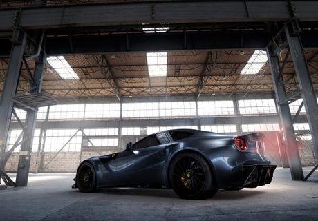 Ferrari F12 do carbon gioi han 10 chiec tren the gioi - Anh 2