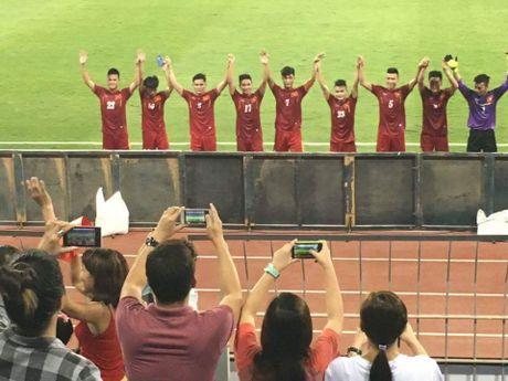 Video CDV tiep lua U19 Viet Nam o giai chau A - Anh 5