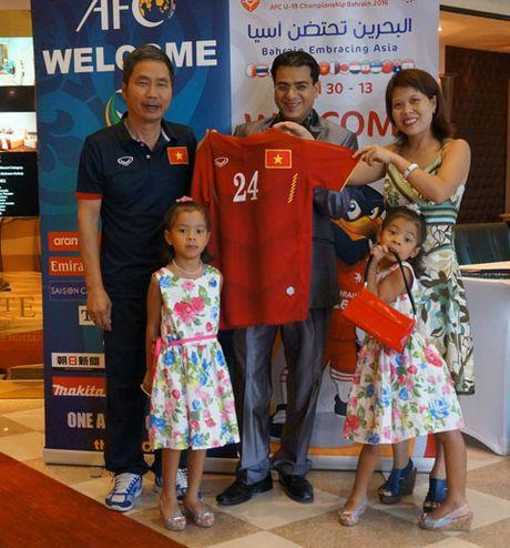 Video CDV tiep lua U19 Viet Nam o giai chau A - Anh 6