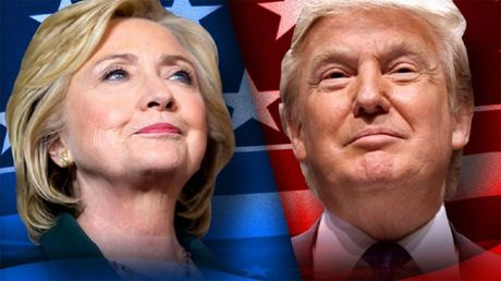 Ba Clinton dot nhien ap dao, ong Trump dan xa Nha Trang - Anh 1