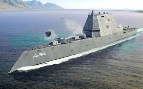 Sieu khu truc ham USS Zumwalt- 'su lua chon hang dau cua Batman' - Anh 1