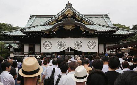 85 Nghi si Nhat Ban vieng Den Yasukuni - Anh 1