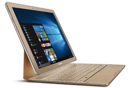 Samsung Galaxy Tab Pro S – 'ke thu' cua Microsoft Surface Pro 4 - Anh 1