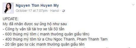 Ngoc Han, Huyen My, Ky Duyen het long vi mien Trung - Anh 7