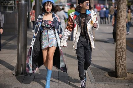 Hot girl Viet khoe street style cuc dinh o Han Quoc - Anh 3
