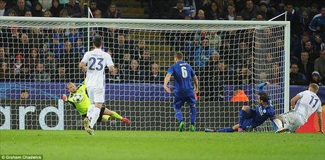 Leicester City 1-0 Kobenhavn: Riyad Mahrez viet lich su cho Bay cao - Anh 4