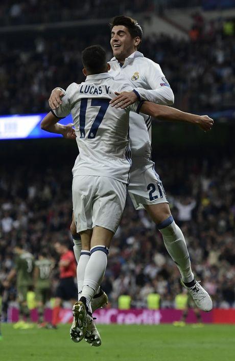 Cho nghiep vu bao vay san Bernabeu, Real de bep Legia trong ngay Ronaldo tit ngoi - Anh 9
