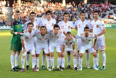 Doi hinh U21 Tay Ban Nha vo dich EURO 2011 dang o dau? - Anh 1