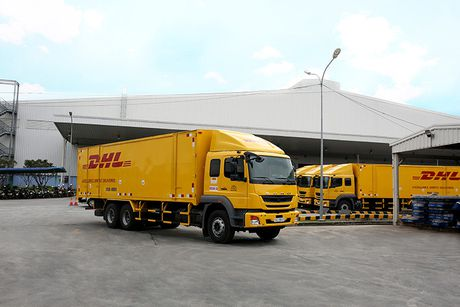 Fuso Fighter FJ 24 gia 1,2 ty gia nhap DHL Supply Chain - Anh 3