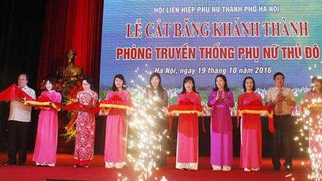 Ngay hoi sang tao phu nu Thu do 2016 - Anh 1