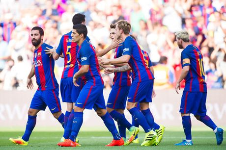 Guardiola dang dua voi lua khi de Man City da nhu Barcelona - Anh 3