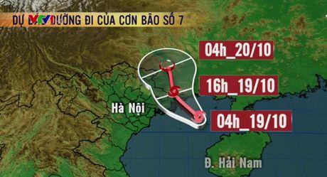 Bao so 7 cach Quang Ninh - Hai Phong 210km ve phia Dong Nam - Anh 1