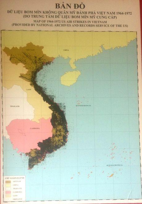 Can canh cac loai bom min My nem xuong Viet Nam 1964-1972 - Anh 1