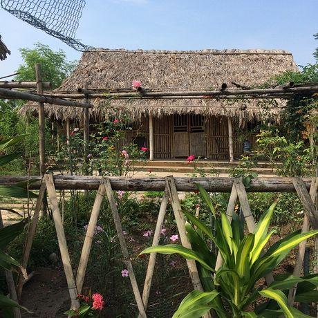 Bai giua song Hong moc len mot loat nha khong phep - Anh 8