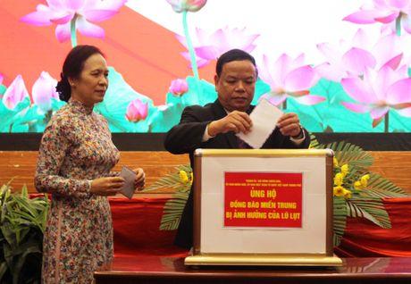 Hai Phong phat dong ung ho mien Trung khac phuc sau mua lu - Anh 3