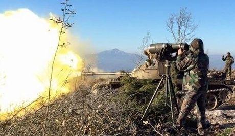 Quan doi Syria va Hezbollah tan cong manh phien quan o nam Aleppo - Anh 1