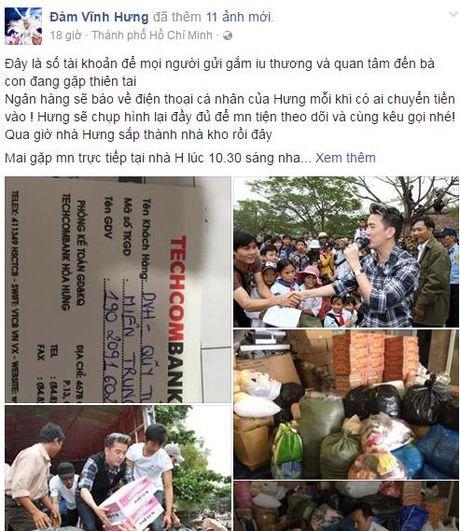 Mr Dam bien biet thu trieu do thanh kho de do ung ho mien Trung - Anh 1