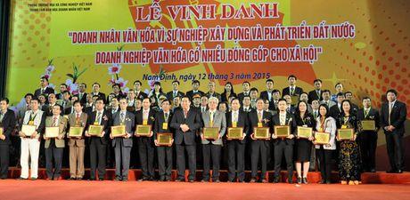'Gap go thang 10' vinh danh cac doanh nhan, doanh nghiep dong hanh cung bao chi - Anh 1