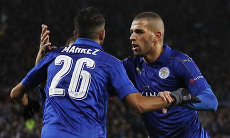 Leicester tiep tuc bay cao tai Champions League - Anh 1