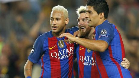 "Barca: Messi, Neymar cho ""nuot chung"" Man City - Anh 2"