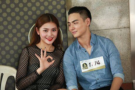 Chung Huyen Thanh dong vien ban trai thu suc voi cuoc thi 'Khoi dau uoc mo' - Anh 1