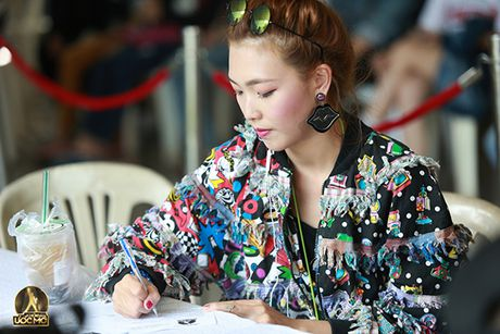 Chung Huyen Thanh dong vien ban trai thu suc voi cuoc thi 'Khoi dau uoc mo' - Anh 6