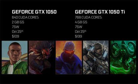 Nvidia trinh lang bo doi card do hoa gia re GTX 1050 va GTX 1050 Ti - Anh 2