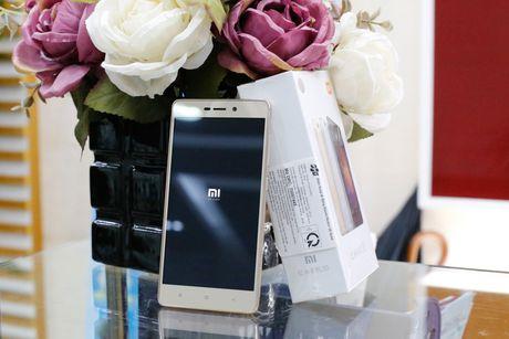 Xiaomi Redmi 3S chinh hang: smartphone pin trau gia 3,19 trieu dong - Anh 1
