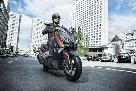 Trinh lang tay ga Yamaha X-MAX 300 2017 hoan toan moi - Anh 1