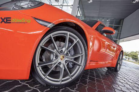 Ve dep Porsche 911 Carrera mau doc Lava Orange gia hon 8 ti dong - Anh 12
