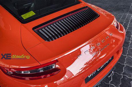 Ve dep Porsche 911 Carrera mau doc Lava Orange gia hon 8 ti dong - Anh 13