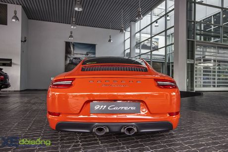 Ve dep Porsche 911 Carrera mau doc Lava Orange gia hon 8 ti dong - Anh 21