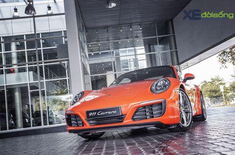 Ve dep Porsche 911 Carrera mau doc Lava Orange gia hon 8 ti dong - Anh 8