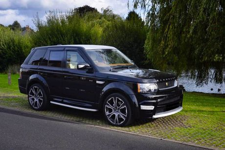 Choang voi cach do noi that Range Rover Sport cua Vilner - Anh 10