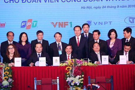"""Nam 2017: """"Nam vi loi ich doan vien Cong doan"""" - Anh 1"""