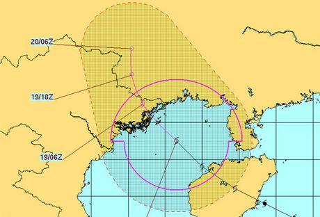 Bao Sarika suy yeu nhanh, do bo Quang Ninh - Anh 2
