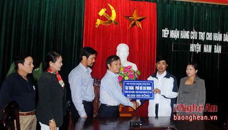 Hoi Doanh nghiep Nghe Tinh tai TP. Ho Chi Minh keu goi ho tro ba con vung lu lut - Anh 1