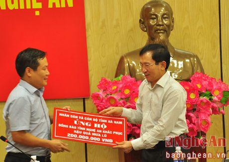 Hoi Chu thap do Viet Nam va tinh Ha Nam ung ho 400 trieu dong cho ba con vung lu Nghe An - Anh 3