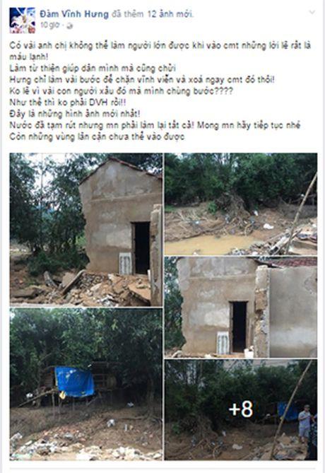Dam Vinh Hung 'noi doa', MC Phan Anh nhe nhang dap tra khi ung ho mien Trung van bi 'nem da' - Anh 2